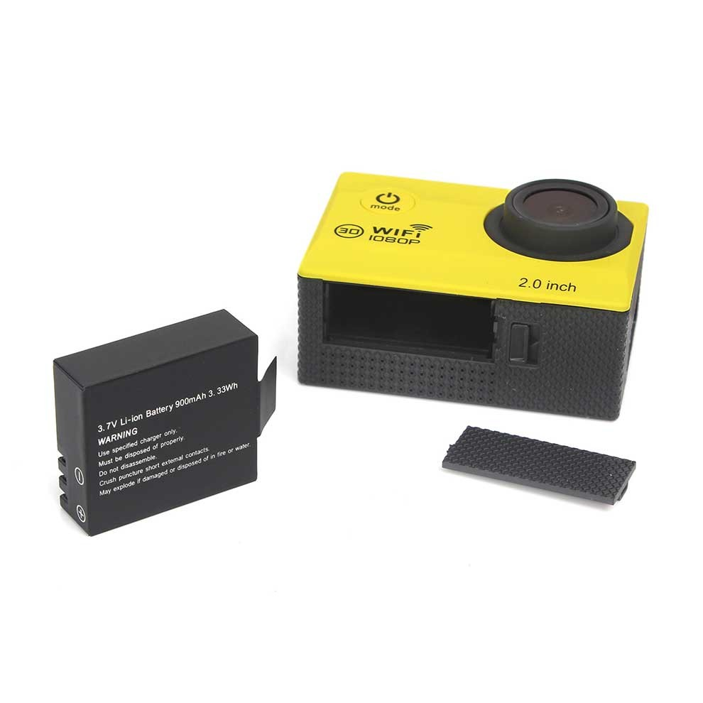 OEM WIFI Action Camera With Full HD 1080P Resolution