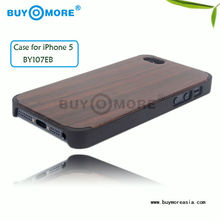 durable and luxury wooden hard cover case for apple iphone5s,cover case for iphone