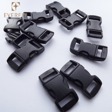 Custom cheap adjustable top quality plastic bag release strap buckle