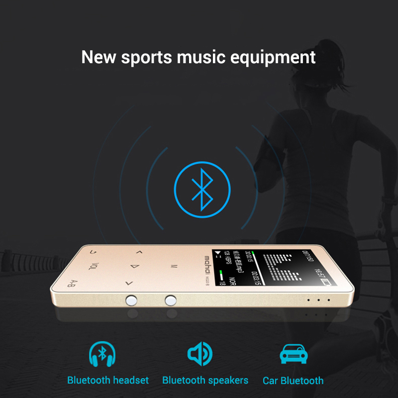 Mahdi M320 Hifi Lossless Music Bluetooth MP3 Player 1.8 TFT Screen 8GB Memory Multifunction MP3 Player Support FLAC ALAC Format (3)