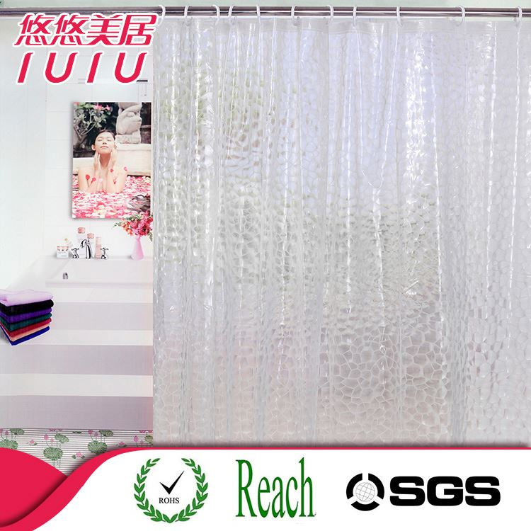 Cheap China supply wholesale batnroom shower curtain