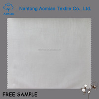 stock cotton jacquard fabric for hotel bed linen