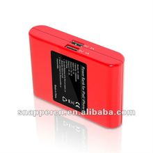 Mobile battery powered emergency mobile phone charger 10000mah 15000mah