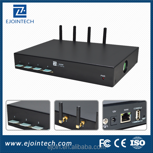 Hot sales!!! 4 port gsm voip gateway/Support SMS/4port 4sim VOIP GSM Gateway, bulk sms sending device free unlimited VOIP Calls