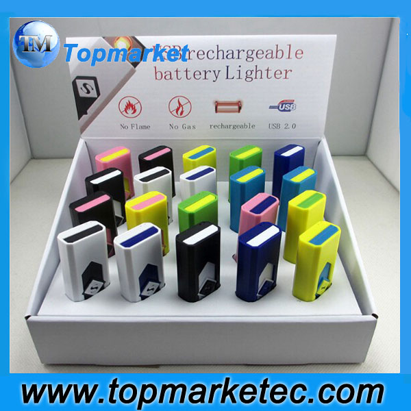 Wholesale cheap custom usb lighter,safe rechargeable bic lighters