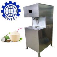 2018 Newest industrial diamond shape tender coconut peeling and trimming machine