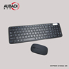 2.4ghz Wireless Keyboard Mouse Set One USB Receiver for Computer Laptop Business Travel