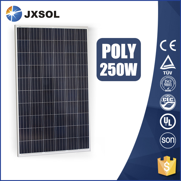 best price 250w poly photovoltaic solar panel