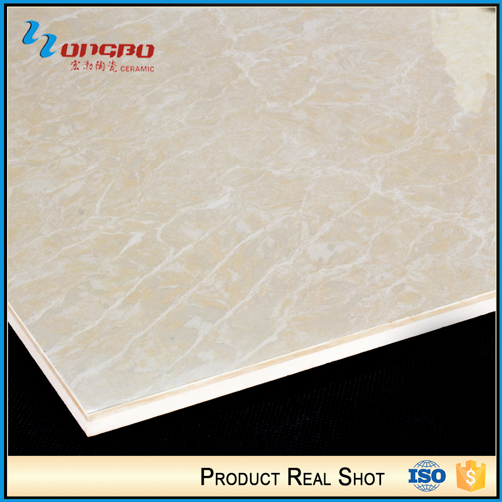 Hot China Products Polished Porcelain Yellow Wholesale Tile Floor Ceramic