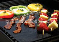 Reusable and portable BBQ Cooking Mat Non stick barbecue and bake sheet ideal for picnics, camping, RV grills, public grill