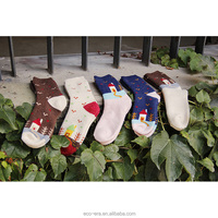 100% Wool Christmas Products Women's Terry Socks Cartoon