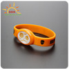 China Factory wholesale lighting emitting diode glow silicone bracelet with brand