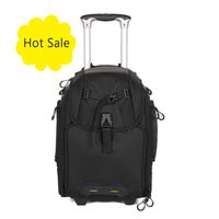 Professional trolley dslr camera bag