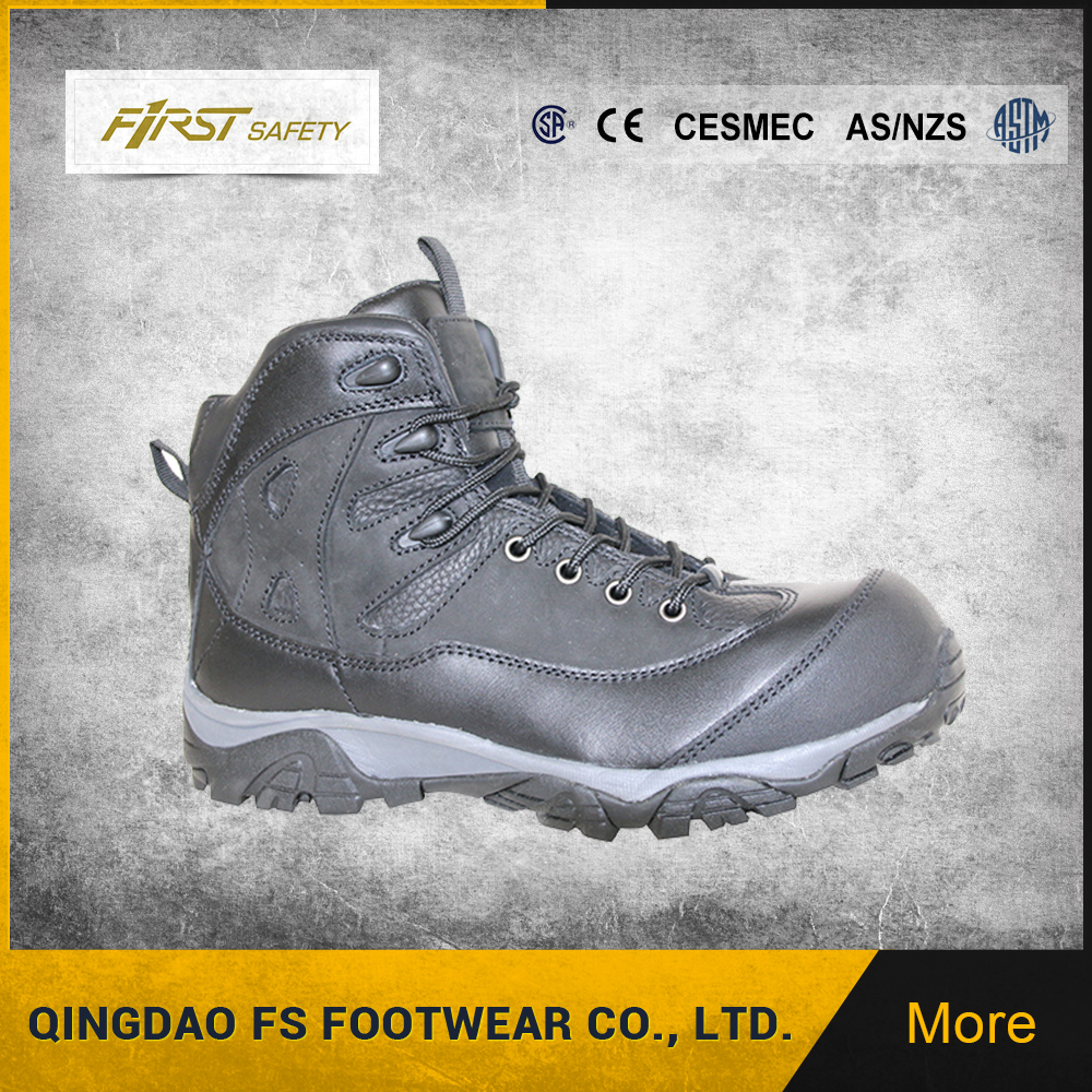 FS1320 Cementing Full Grain Leather Heat resistant Outsole Safety <strong>Shoes</strong>