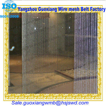 Different types mesh chain metal curtain