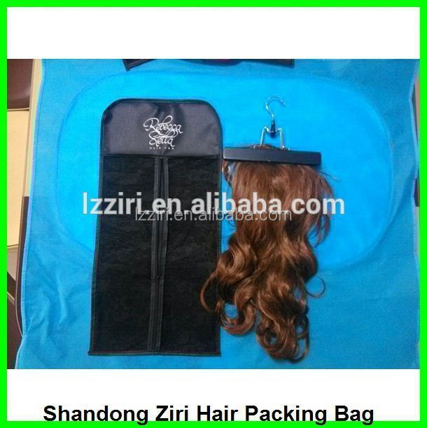 plastic bags for hair extensions