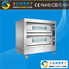 Commercial stainless steel electric bakery oven and pizza deck oven prices