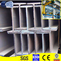 carbon hot rolled structural steel h beam dimensions