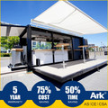 Ark Long Lifespan Top Quality Good Price Flatpack Prefabricated snack bar