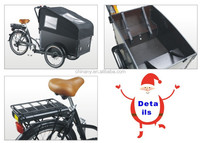 Nanyang / Clamber / OEM Brand Three wheels cargo bikes for sales