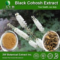Halal&Kosher Natural Black Cohosh P.E/Black Cohosh Root Extract Powder/Actaea Racemosa Extract