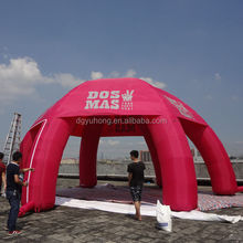 advertising inflatable blow up spider tent