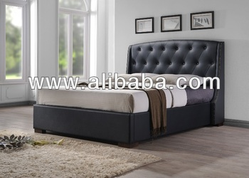 Faux Leather PU Bed / Bedroom Furniture / Marco Bed