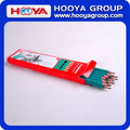 wholesale cheap eraser plastic standard custom pencils