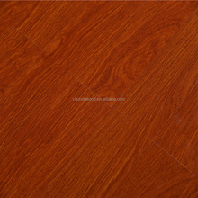 V-groove embossed surface floor wood
