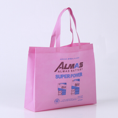 promotional cheap custom non woven bag shopping with logo printed