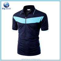 2015 brand stripe polo shirt&promotional polo shirt&Make Your Own T Shirts Custom Printing