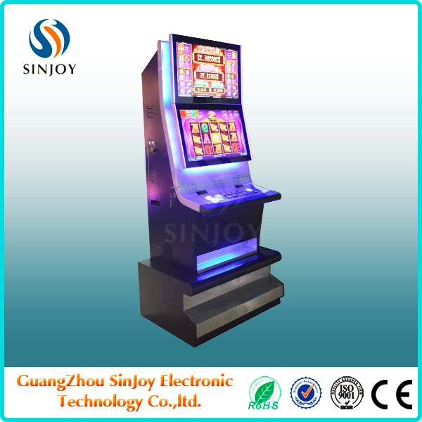 DUO FU DUO CAI slot machine casino,slot machine cabinet with 19/22inch