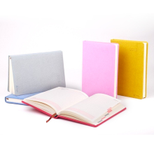 silicone notebook cover elastic band plain kraft notebook