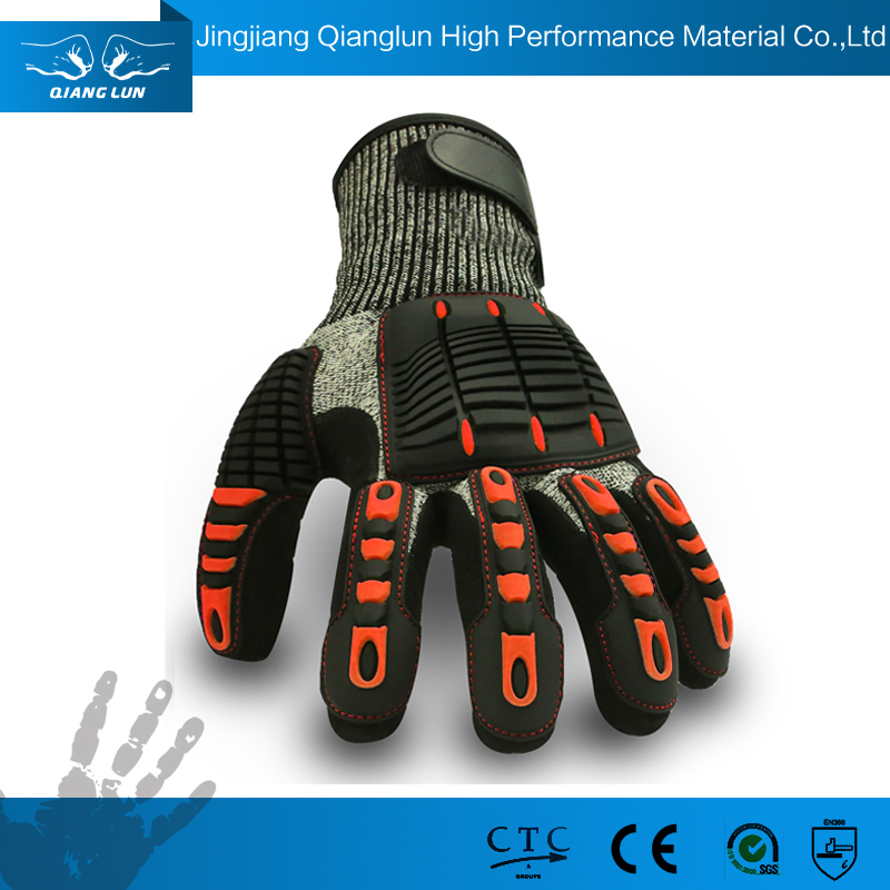 Durable and Breathable Gloves Shock Resistant