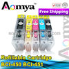 Aomya refill ink cartridge for Cannon PGI550/CLI551, PGI250/CLI251, PGI450