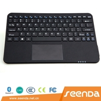 Seenda IBK-13 tablets universal bluetooth touchpad keyboard used separately or matched with 10 inch Leather cases