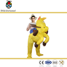 Funny best seller giant inflatable fat jumping horse