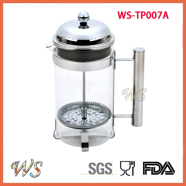 WS-TP007A Stainless Steel French Press Coffee Maker