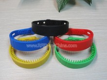 Good Quality RFID Custom Silicon Wristbands for Asset Management