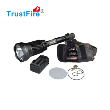 Outdoor led lights for camping TrustFire X6 flashlight torch light,Fish Hunting Equipment(3*18650)