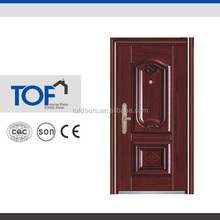 TOF Construction Building Metal Door Decoration Exterior Door Skin