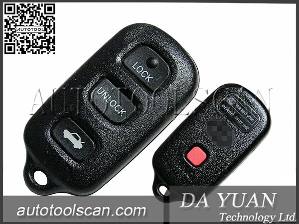Website Hot Selling for Toyota One Button Key