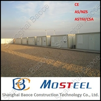 MoSteel Top 10 Prefab Container House for Refugee Camp