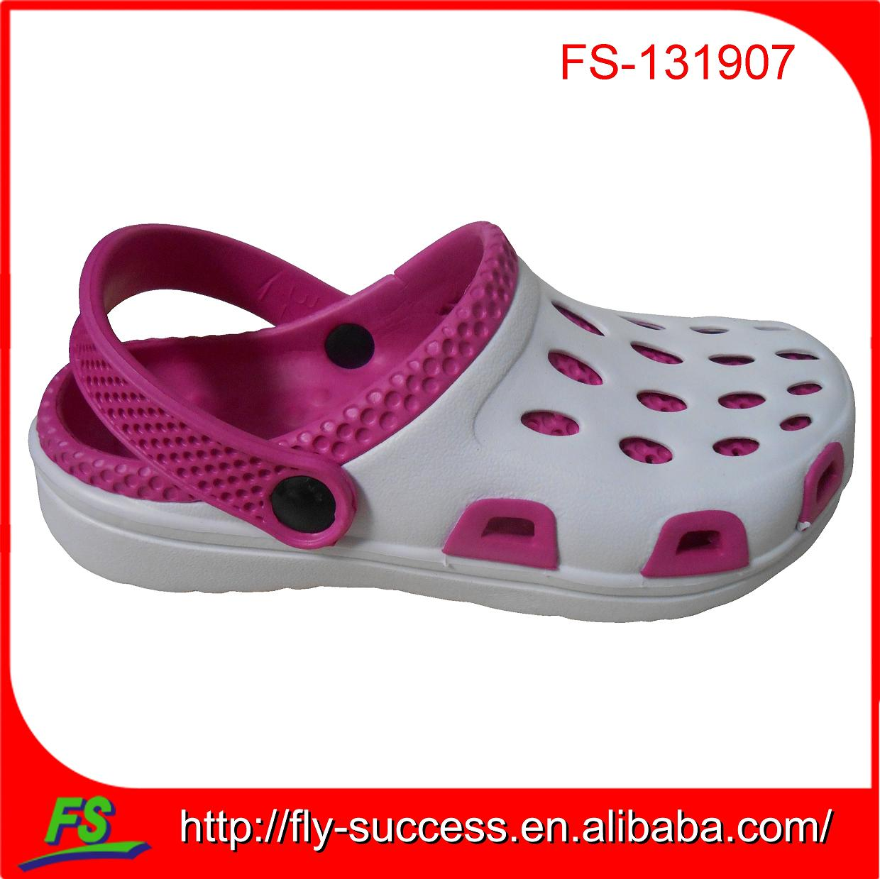 hottest design holey eva shoes,kids summer shoe,garden shoe