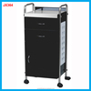 Hairdressing salon working trolley beauty drawer trolley for hot sale JX364