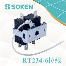 RT234-6 wire Rotary Switch with 8 position