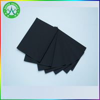 700gsm wood pulp thick black cardboard/black paper/black paper board for boxes