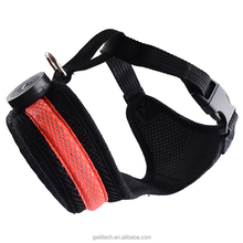 Famous HQ reflect light dog chest straps dog baby harness seat belt Pet Belt Harness Leash chest strap