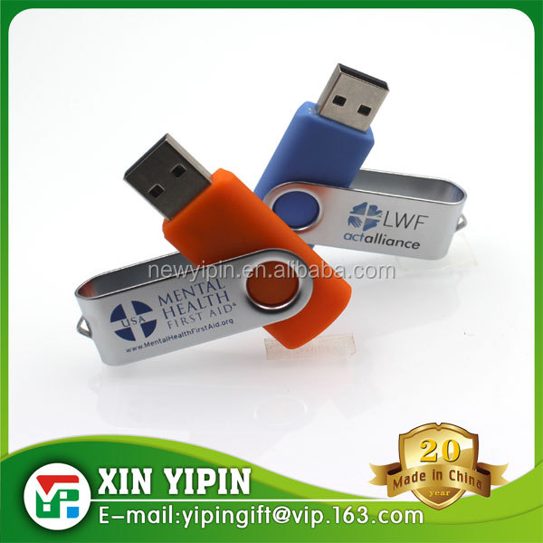 Professional manufacture cheapest colorful flash memory usb