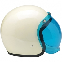 high quality white vintage mini motorcycle helmet